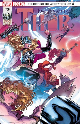 Mighty Thor no. 700 (2017 Series)