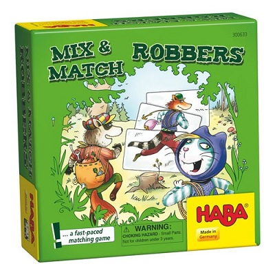 Mix and Match Robbers Card Game