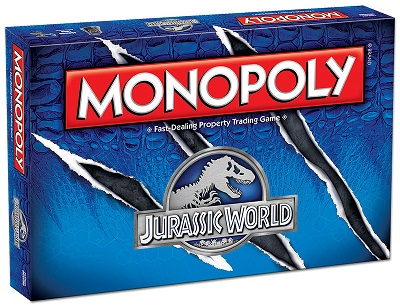 Monopoly: Jurassic World Board Game