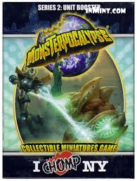 Monsterpocalypse : I Chomp NY - Series 2: Unit Booster