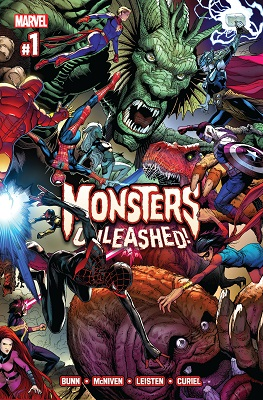 Monsters Unleashed (2017 1st Series) Complete Bundle - Used