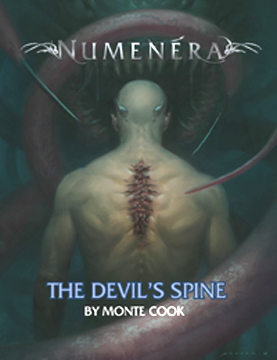 Numenera: The Devils Spine - Used