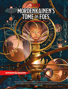 Dungeons and Dragons 5th Ed: Mordenkainen's Tome of Foes HC