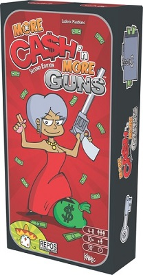 Cash N Guns: More Cash N More Guns Expansion (2nd Edition)
