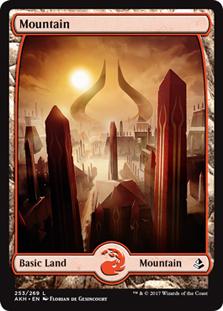 Mountain - Amonkhet (Full Art)