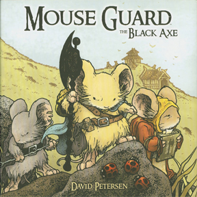 Mouseguard: Volume 3: The Black Axe