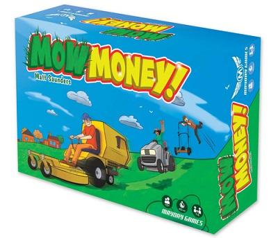 Mow Money Card Game