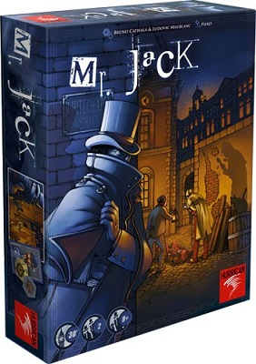Mr. Jack Board Game (Revised Edition) - USED - By Seller No: 15522 Daniel Rhode