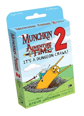 Munchkin Adventure Time 2: Its a Dungeon Crawl