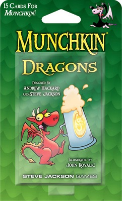 Munchkin: Dragons Booster (2nd Edition)