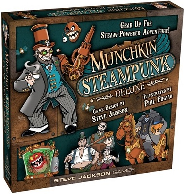 Munchkin: Steampunk Deluxe