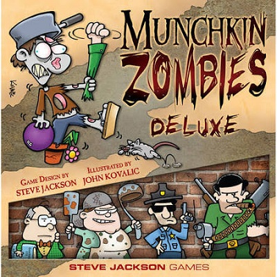 Munchkin Zombies: Deluxe Card Game
