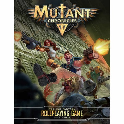 Mutant Chronicles: Core Rulebook HC (3rd Edition) - Used