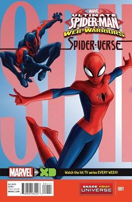 Marvel Universe: Ultimate Spider Man: Spider-Verse (2015) Complete Bundle - Used