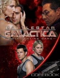 Battlestar Galactica Role Playing Game - Used
