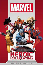 Marvel Heroic Role Playing Basic Game: Soft Cover - Used