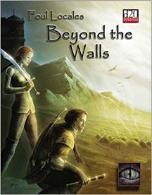 D20: Foul Locales: Beyond the Walls - USED
