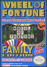 Wheel of Fortune: Family Edition - NES