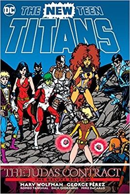 New Teen Titans: The Judas Contract Deluxe HC