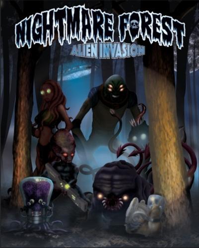 Nightmare Forest: Alien Invasion Board Game