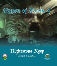 5th Edition Adventures: Quests of Doom 4: Nightstone Keep