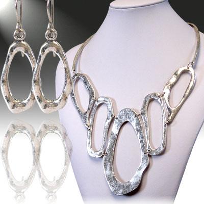 Antique Silver Necklace Sets