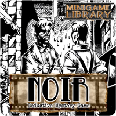 Noir: Black Box Edition Card Game
