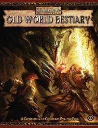 Warhammer Fantasy Roleplay 2nd Ed: Old World Bestiary HC - Used