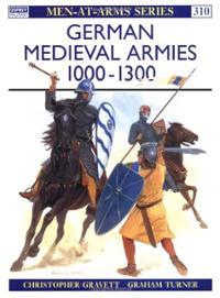 Men-At-Arms-Series: German Medieval Armies 1000-1300 - Used