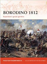 Borodino 1812: Napoleons Great Gamble - Osprey
