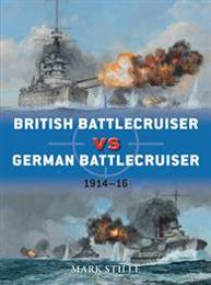 British Battlecruiser vs German Battlecruiser 1914-16