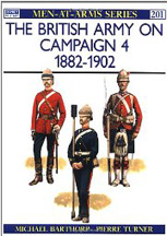 The British Army On Campaign 4 1882-1902 - Used