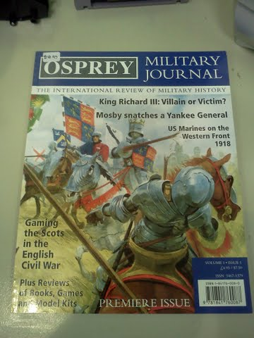 Osprey Military Journal: Vol 1 Issue 1
