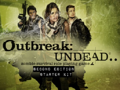 Outbreak: Undead: 2nd Edition Starter Kit - Used