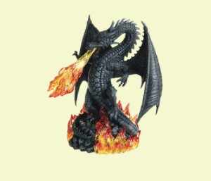 Fiery Sinister Dragon