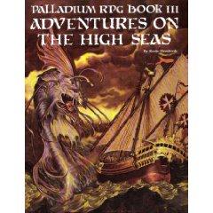 Palladium Fantasy 1st ed: Adventures on the High Seas - Used