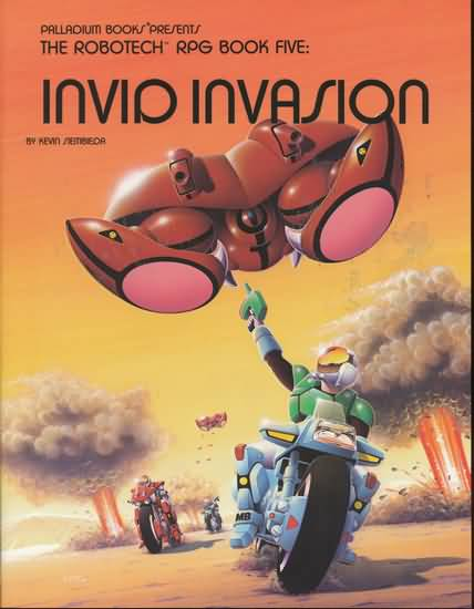 Robotech RPG Book Five: Invid Invasion - Used