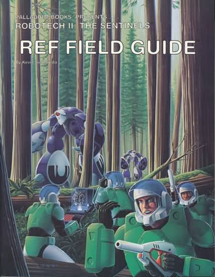 Robotech II: the Sentinels: REF Field Guide - Used