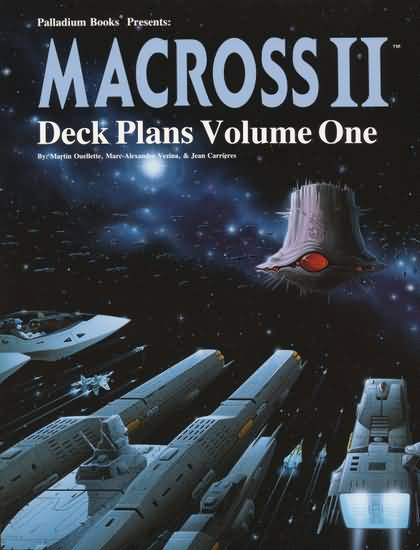 Macross II RPG: Deck Plans Volume One - Used