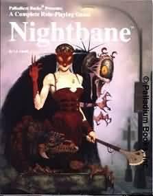 Palladium: Role-Playing Game: Nightbane - Used