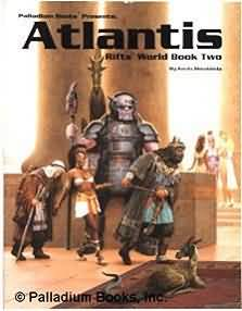 Rifts 1st ed: World Book Two: Atlantis - Used