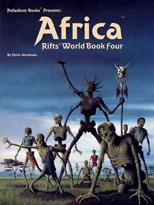 Rifts 1st ed: World Book Four: Africa - Used