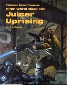 Rifts: Juicer Uprising - Used