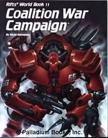 Rifts: Coalition War Campaign - Used