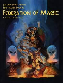 Rifts 1st ed: Revised and Updated: Federation of Magic - Used