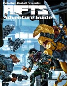 Rifts: Adventure Guide - Used
