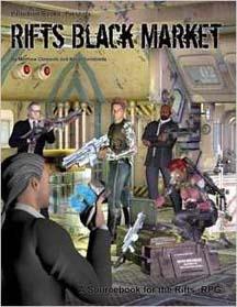 Rifts 2nd ed: Black Market - Used