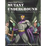 Heroes Unlimited 2nd ed: Mutant Underground - Used