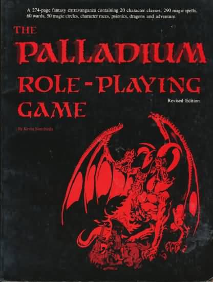 Palladium Fantasy 1st ed RPG - Used