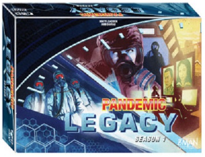 Pandemic: Legacy Season 1: Blue Board Game